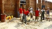 Schulbau in Biharamulo Tansania